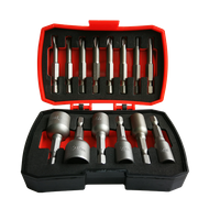 14Pcs Bits and Nut Setter Set